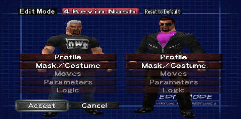 Virtual Pro-Wrestling 2 freem Edition Manual