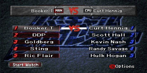 Virtual Pro-Wrestling 2 freem Edition Manual